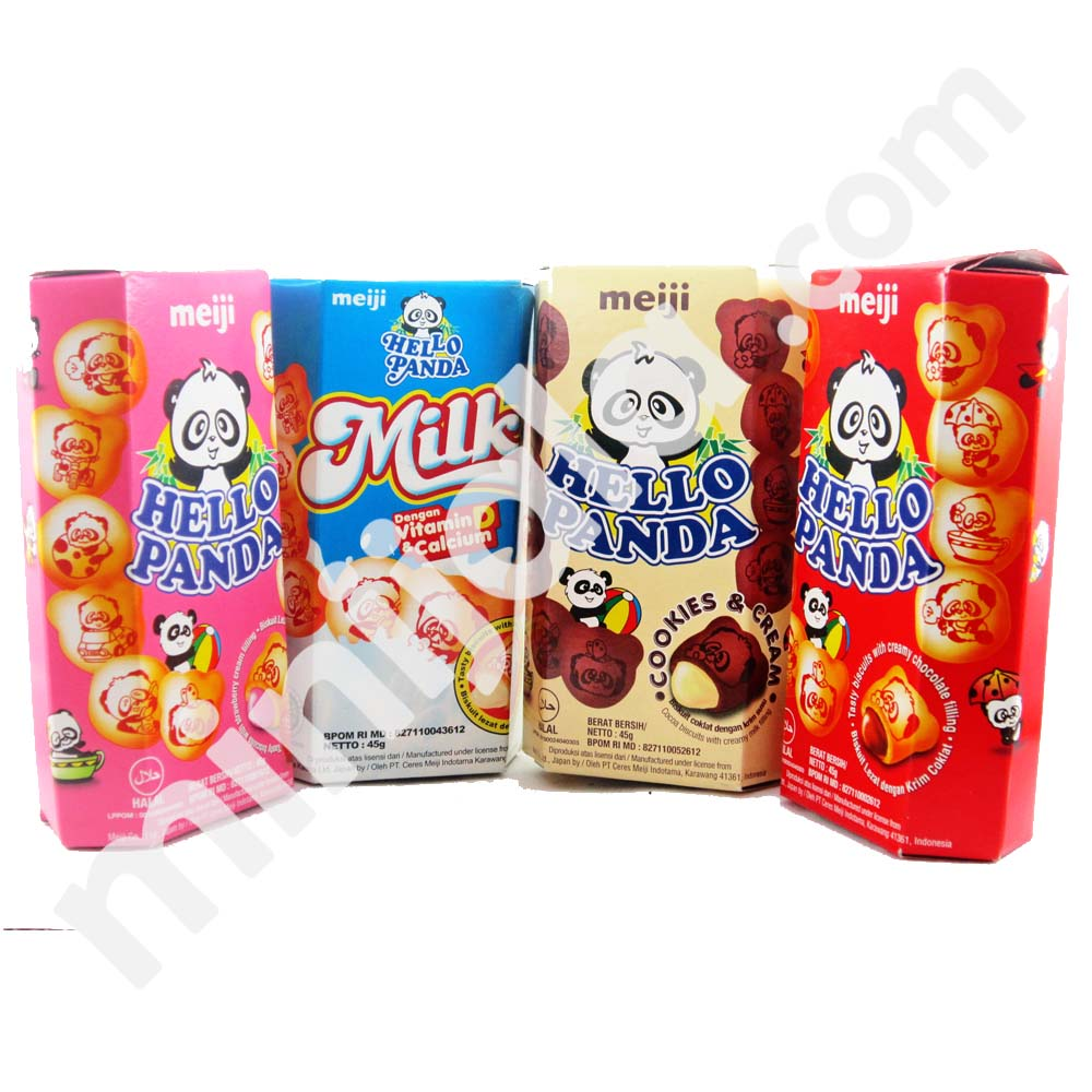 Hello Panda Indonesia Biscuit