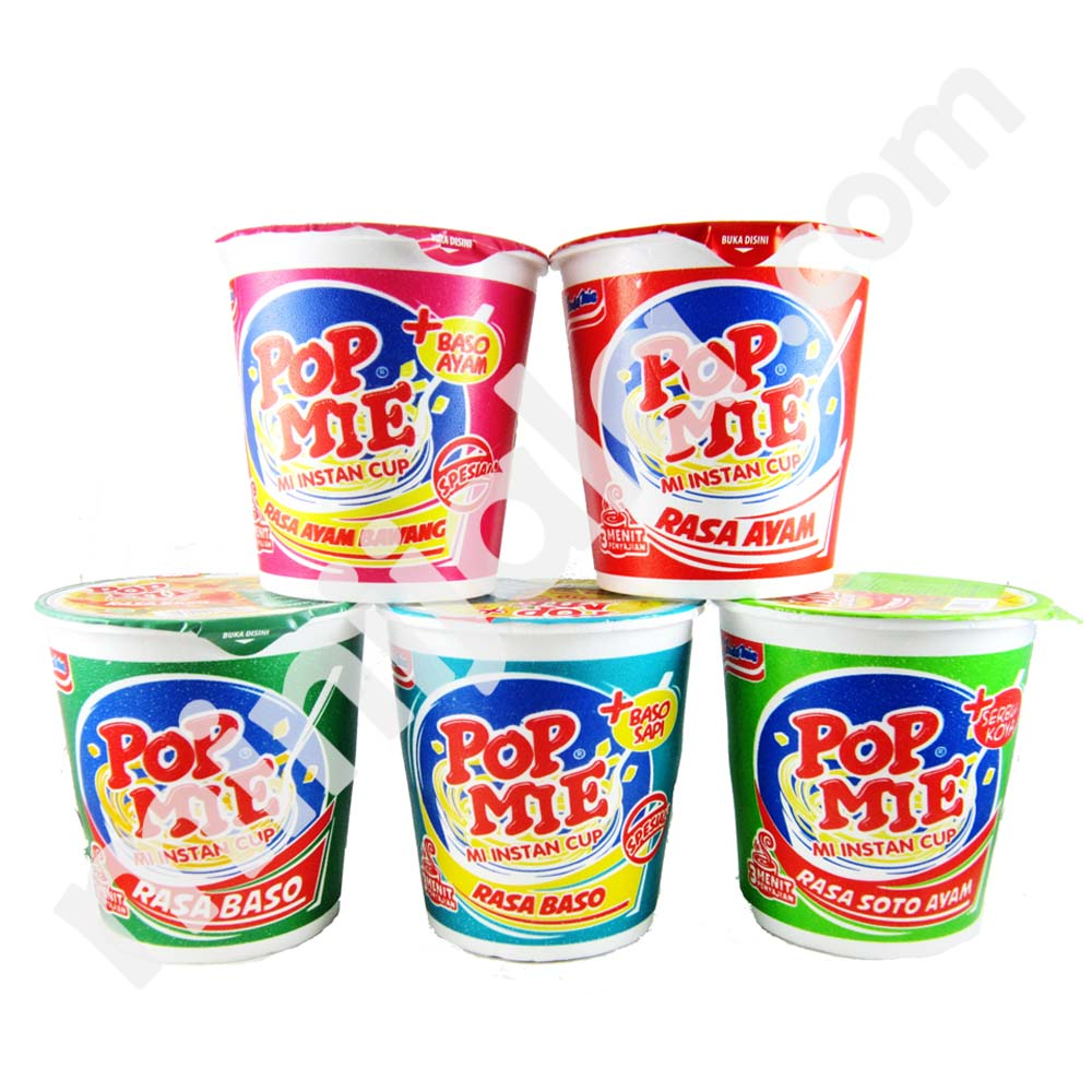 Indomie Pop Mie Indomie Cup Noodle