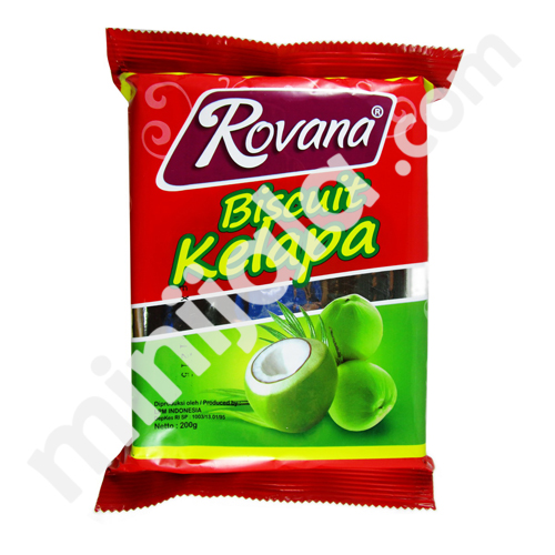 Rovanna Coconut Biscuit