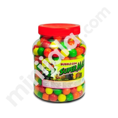 Super Max Bubble Gum Tutti Frutti Flavor
