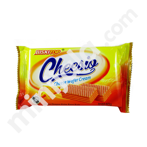 Biskitop Cheesio Cheese Wafer Cream