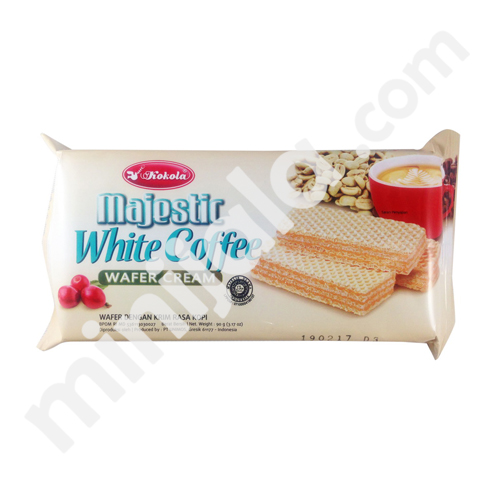 Kokola Majestic White Coffee Wafer Cream