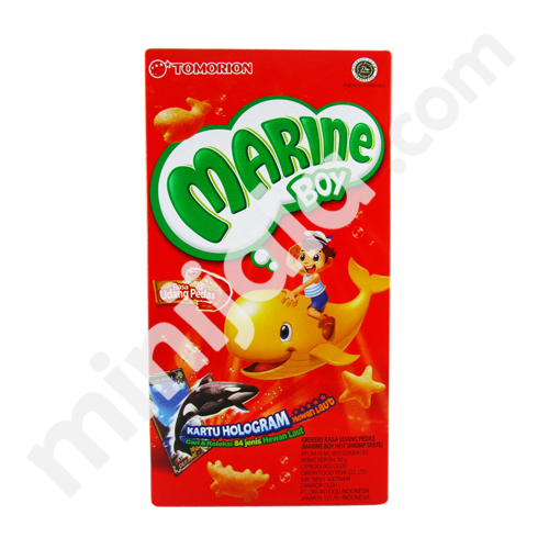 Marine Boy Crackers Spicy Shrimp Flavour