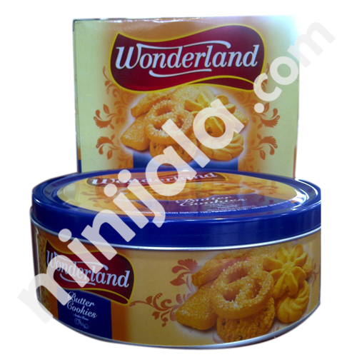 Wonderland Butter Cookies